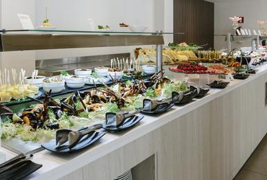 Buffet AluaSoul Mallorca Resort (Adults Only) Hotel Cala d'Or, Mallorca